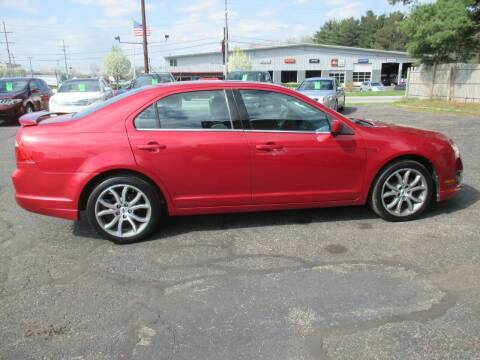 2012 Ford Fusion for sale at Home Street Auto Sales in Mishawaka IN