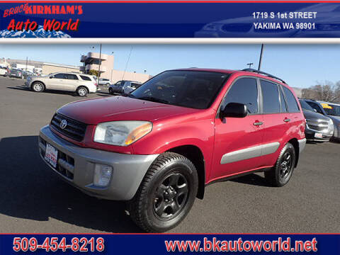 2002 Toyota RAV4 for sale at Bruce Kirkham Auto World in Yakima WA