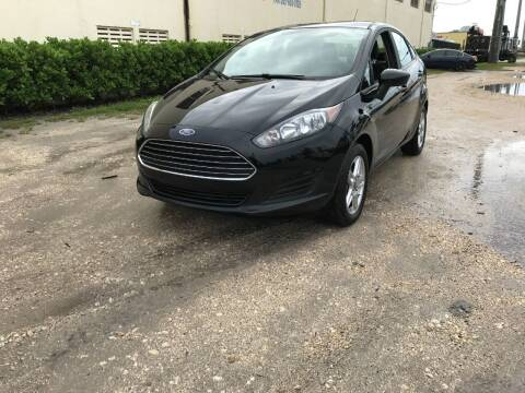 2019 Ford Fiesta for sale at FRS AUTO LLC in West Palm Beach FL