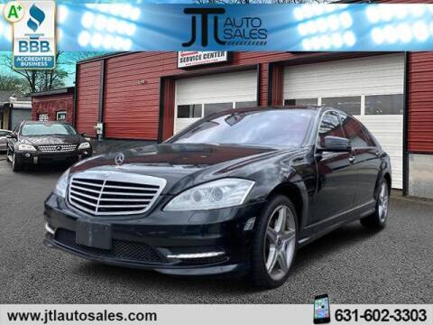 2010 Mercedes-Benz S-Class for sale at JTL Auto Inc in Selden NY