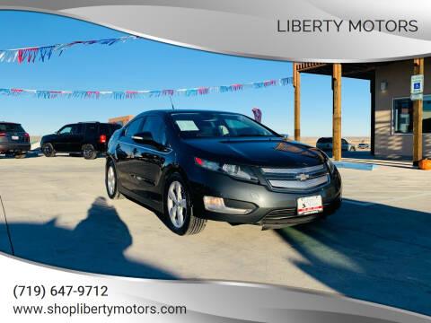 2014 Chevrolet Volt for sale at LIBERTY MOTORS in Pueblo West CO
