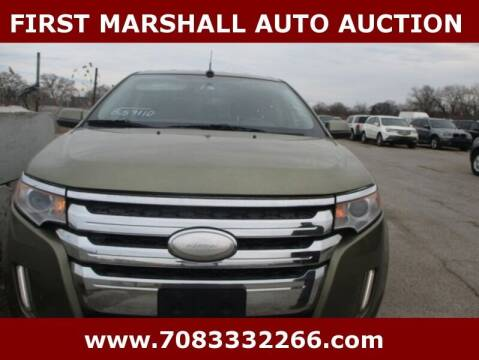2013 Ford Edge for sale at First Marshall Auto Auction in Harvey IL