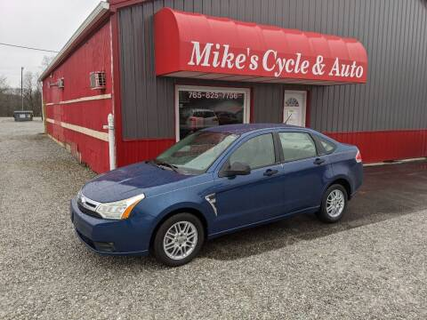 2008 Ford Focus for sale at MIKE'S CYCLE & AUTO in Connersville IN