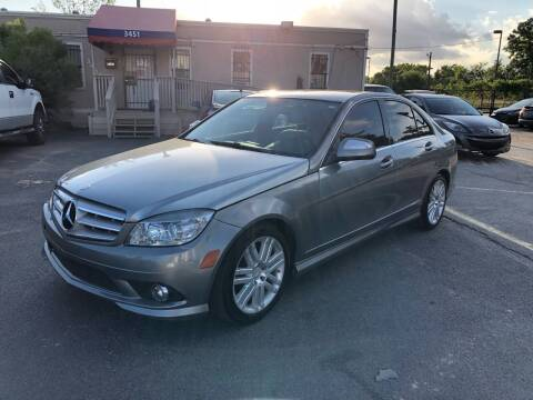 2009 Mercedes-Benz C-Class for sale at Saipan Auto Sales in Houston TX