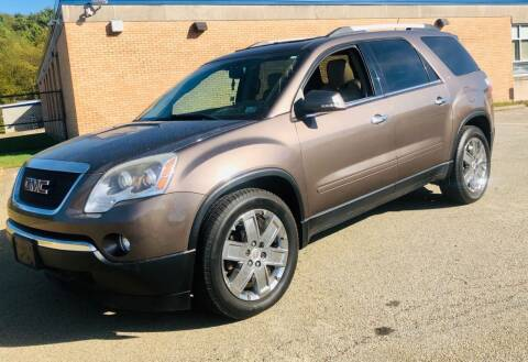 2010 GMC Acadia for sale at R C Auto Sales in Connellsville PA