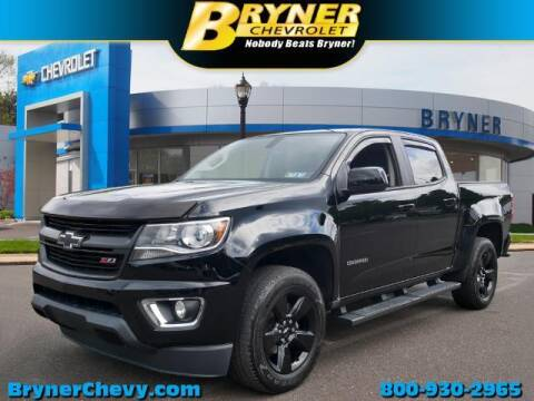 2016 Chevrolet Colorado for sale at BRYNER CHEVROLET in Jenkintown PA