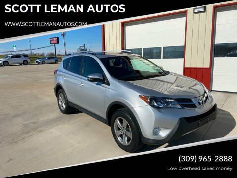 2015 Toyota RAV4 for sale at SCOTT LEMAN AUTOS in Goodfield IL