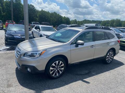 2017 Subaru Outback for sale at Billy Ballew Motorsports in Dawsonville GA