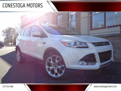 2013 Ford Escape for sale at CONESTOGA MOTORS in Ephrata PA