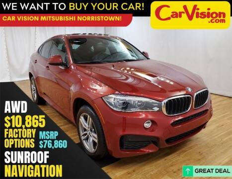 2018 BMW X6 for sale at Car Vision Mitsubishi Norristown in Trooper PA