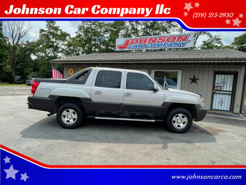 2004 Chevrolet Avalanche for sale at Johnson Car Company llc in Crown Point IN