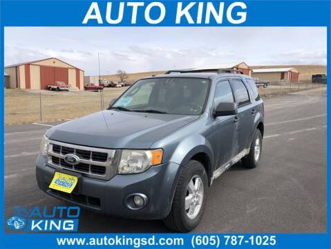 2010 Ford Escape for sale at Auto King in Rapid City SD