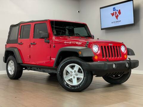 2008 Jeep Wrangler Unlimited for sale at TX Auto Group in Houston TX
