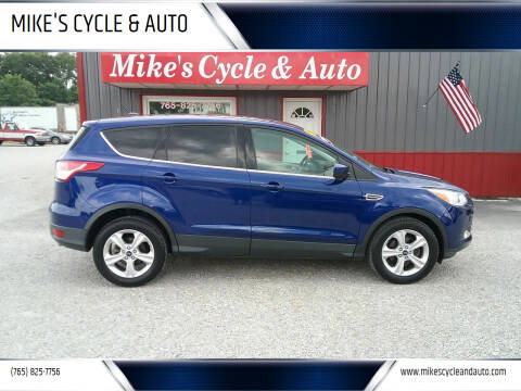 2013 Ford Escape for sale at MIKE'S CYCLE & AUTO - Mikes Cycle and Auto (Liberty) in Liberty IN