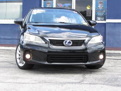 2011 Lexus CT 200h for sale at VIP AUTO ENTERPRISE INC. in Orlando FL