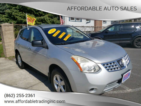 2010 Nissan Rogue for sale at Affordable Auto Sales in Irvington NJ