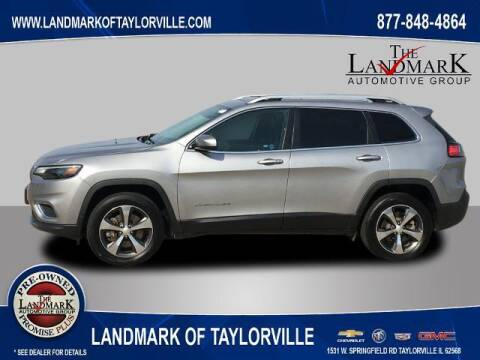 2019 Jeep Cherokee for sale at LANDMARK OF TAYLORVILLE in Taylorville IL