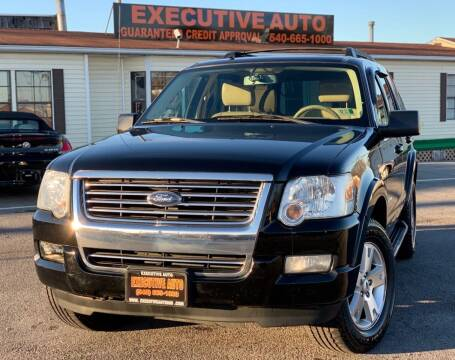 2008 Ford Explorer for sale at Executive Auto in Winchester VA