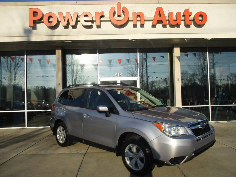 2016 Subaru Forester for sale at Power On Auto LLC in Monroe NC