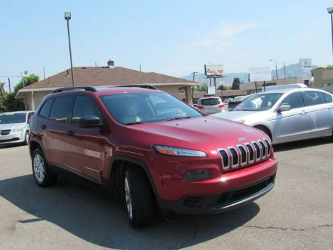 2016 Jeep Cherokee for sale at Crown Auto in South Salt Lake UT