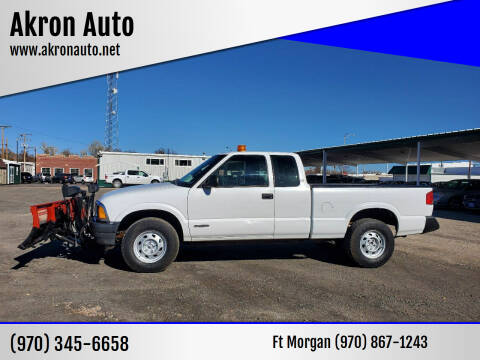 1996 Chevrolet S-10 for sale at Akron Auto in Akron CO