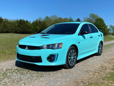 2016 Mitsubishi Lancer for sale at TINKER MOTOR COMPANY in Indianola OK