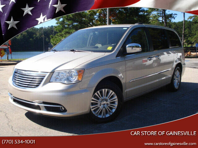 2012 Chrysler Town and Country for sale at Car Store Of Gainesville in Oakwood GA