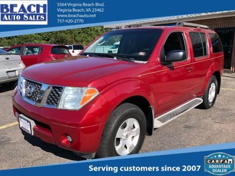 2003 Nissan Xterra for sale at Beach Auto Sales in Virginia Beach VA
