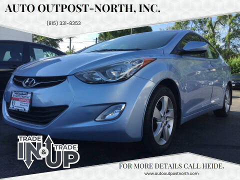 2012 Hyundai Elantra for sale at Auto Outpost-North, Inc. in McHenry IL