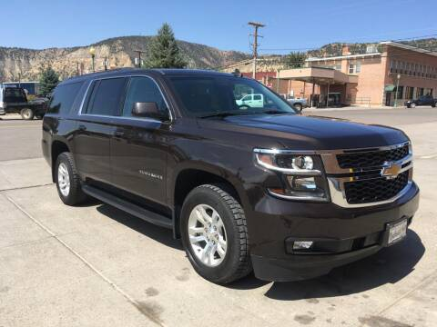 2018 Chevrolet Suburban for sale at Northwest Auto Sales & Service Inc. in Meeker CO