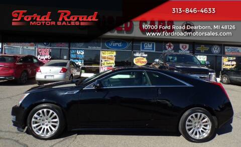 2012 Cadillac CTS for sale at Ford Road Motor Sales in Dearborn MI