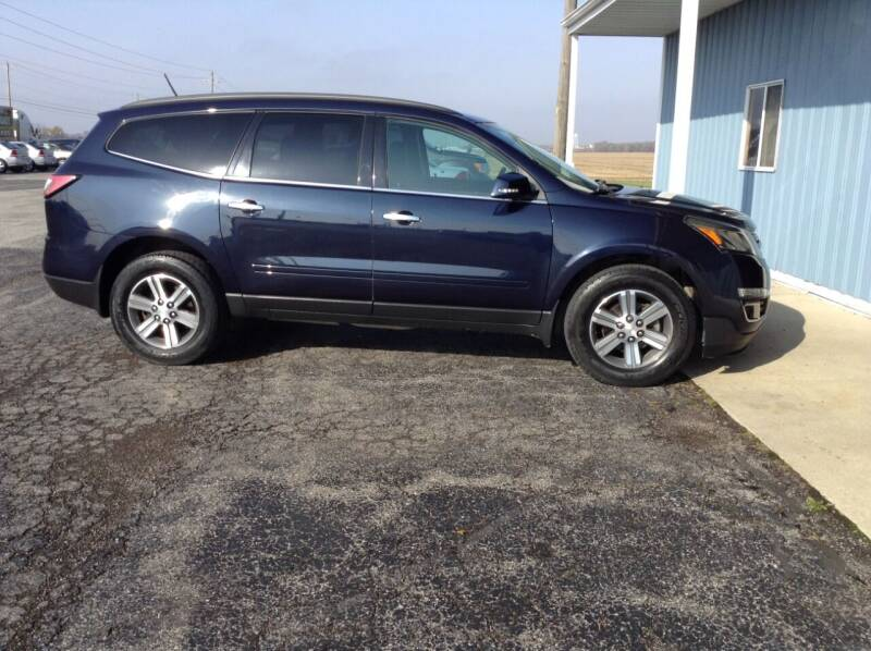 2016 Chevrolet Traverse for sale at Kevin's Motor Sales in Montpelier OH