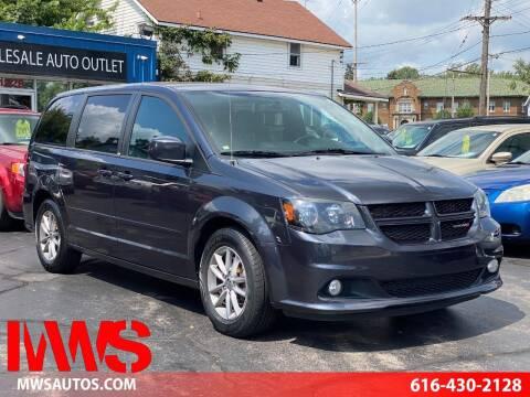 2014 Dodge Grand Caravan for sale at MWS Wholesale  Auto Outlet in Grand Rapids MI