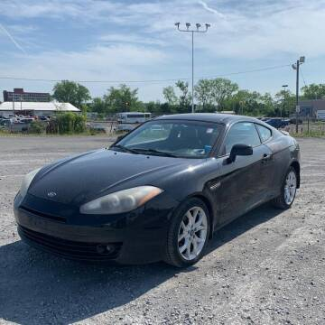 2008 Hyundai Tiburon for sale at MBM Auto Sales and Service - MBM Auto Sales/Lot B in Hyannis MA