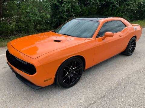 2012 Dodge Challenger for sale at TROPHY MOTORS in New Braunfels TX