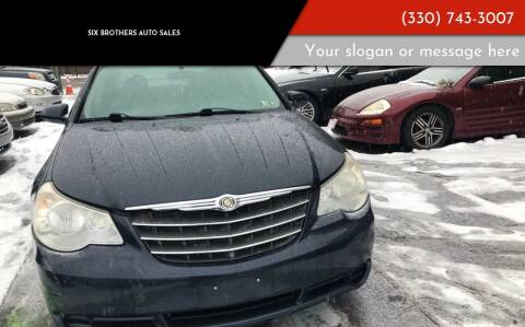2008 Chrysler Sebring for sale at Six Brothers Auto Sales in Youngstown OH
