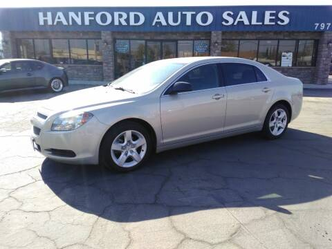 2011 Chevrolet Malibu for sale at Hanford Auto Sales in Hanford CA