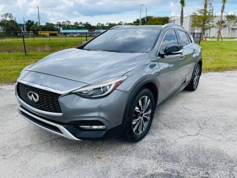 2018 Infiniti QX30 for sale at AUTO PLUG in Jacksonville FL