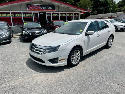 2012 Ford Fusion for sale at Mira Auto Sales in Raleigh NC