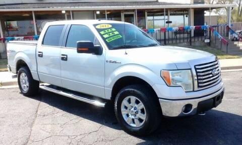 2012 Ford F-150 for sale at Jim Clark Auto World in Topeka KS