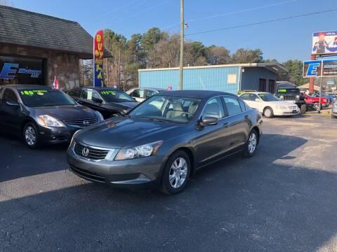 2008 Honda Accord for sale at E Motors LLC in Anderson SC