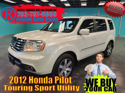 2012 Honda Pilot for sale at Reliable Auto Sales in Las Vegas NV
