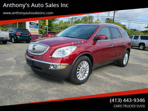 2011 Buick Enclave for sale at Anthony's Auto Sales Inc in Pittsfield MA
