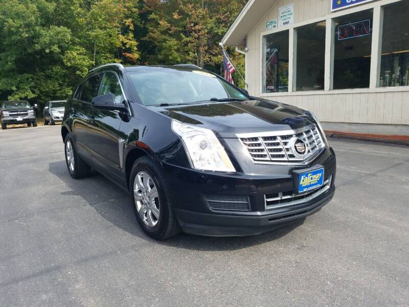 2014 Cadillac SRX for sale at Fairway Auto Sales in Rochester NH