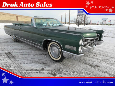 1966 Cadillac Eldorado for sale at Druk Auto Sales in Ramsey MN