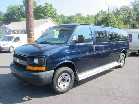 2008 Chevrolet Express Passenger for sale at K & R Auto Sales,Inc in Quakertown PA