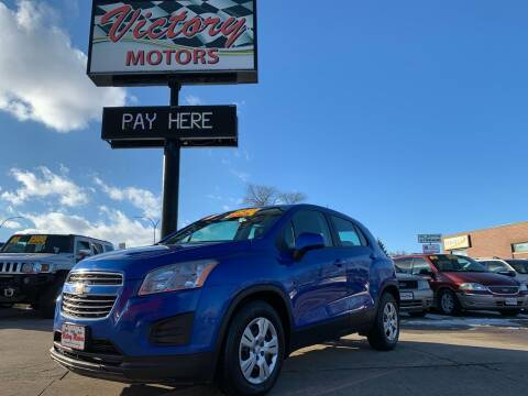 2015 Chevrolet Trax for sale at Victory Motors in Waterloo IA