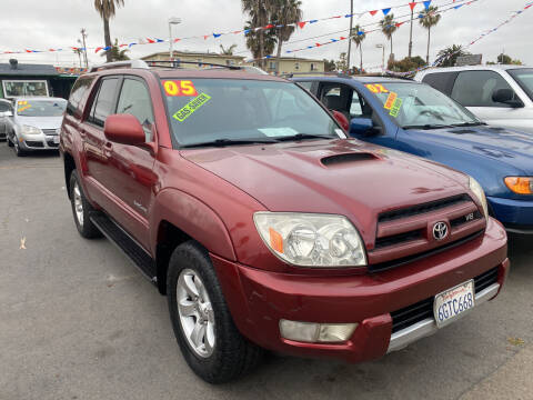 2005 Toyota 4Runner for sale at North County Auto in Oceanside CA
