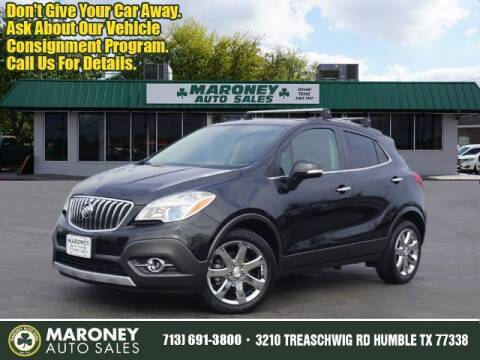 2014 Buick Encore for sale at Maroney Auto Sales in Humble TX