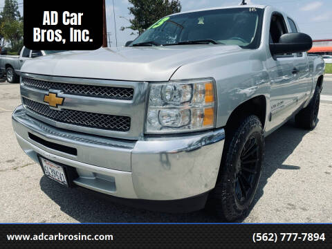 2013 Chevrolet Silverado 1500 for sale at AD Car Bros, Inc. in Whittier CA